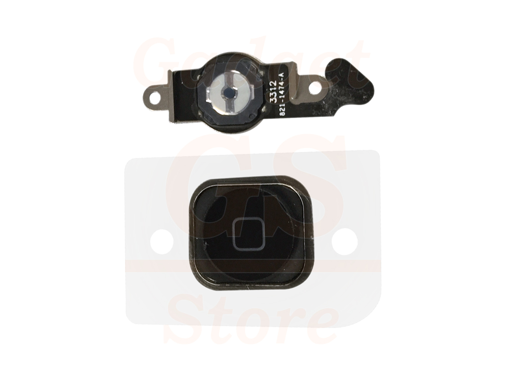BLACK HOME BUTTON FLEX RIBBON CABLE ASSEMBLY FOR APPLE IPHONE 5
