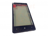 Nokia Lumia 820 digitizer with frame